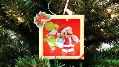 Mario árbol de Navidad