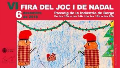 VI Fira del Joc i de Nadal Berga 2018