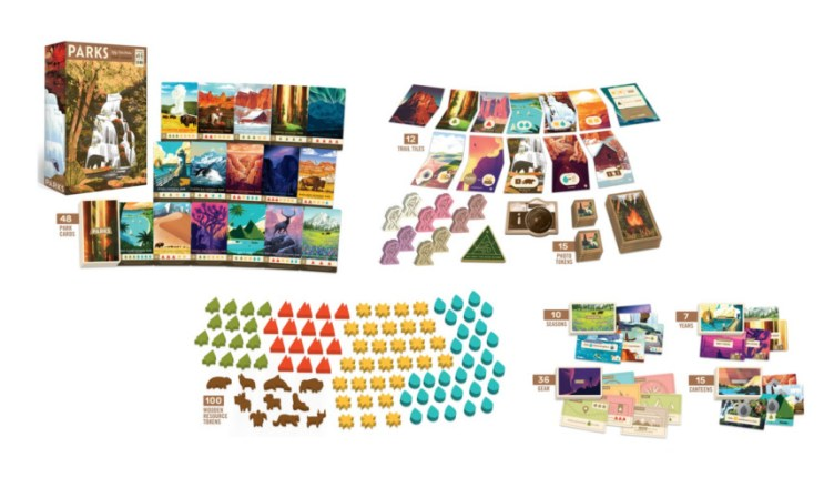 PARKS The Board Game