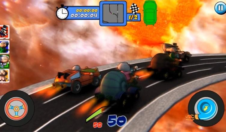 Super Grandpa Racing