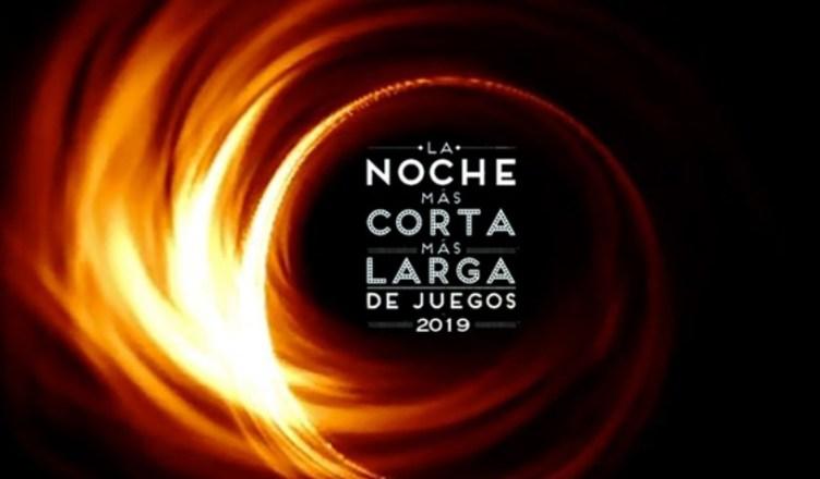 La Noche Más Corta Más Larga de Juegos 2019