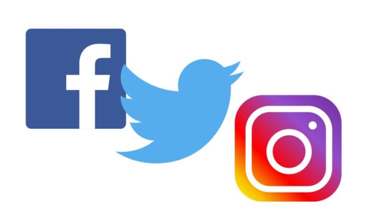 Facebook Twitter Instagram