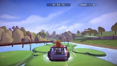 Garfield Kart Furious Racing juego