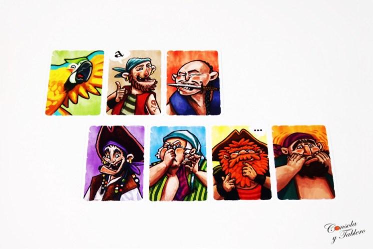 juegos de mesa piratas