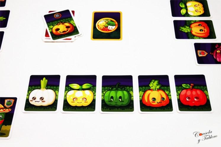 juego de mesa calabaza