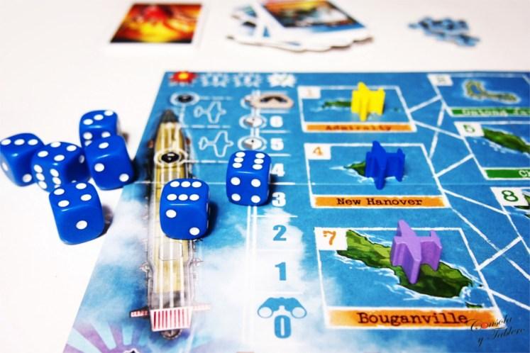 juego de mesa portaaviones