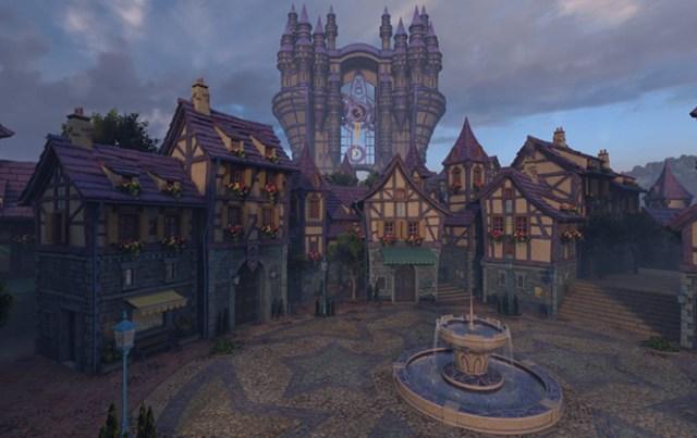 Kingdom Hearts - Daybreak Town