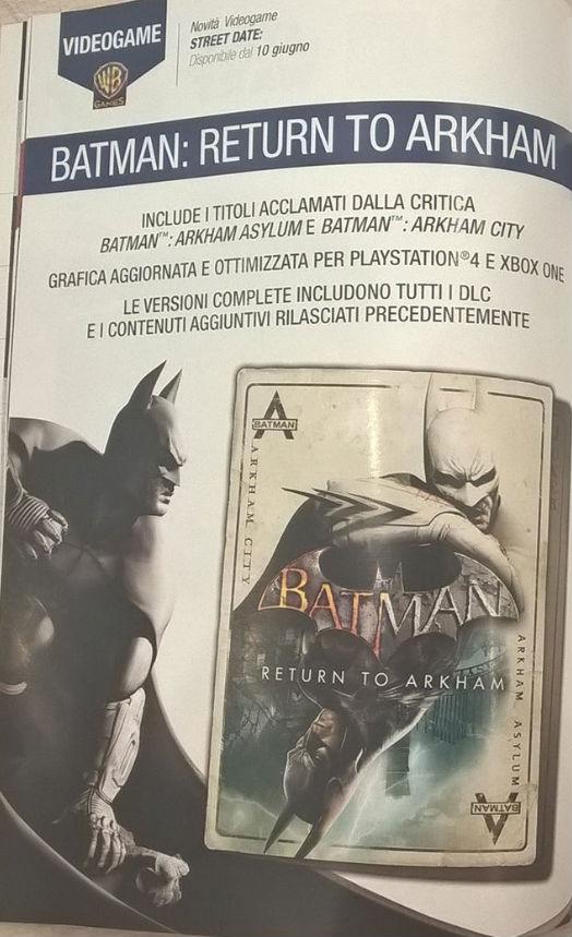 Batman Return to Arkham 1