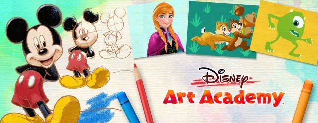 Disney Art academy Header
