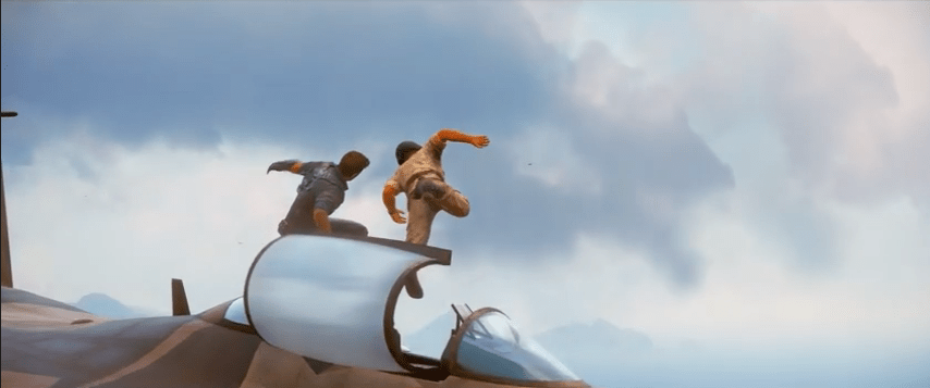 Pilote vole - just cause 3