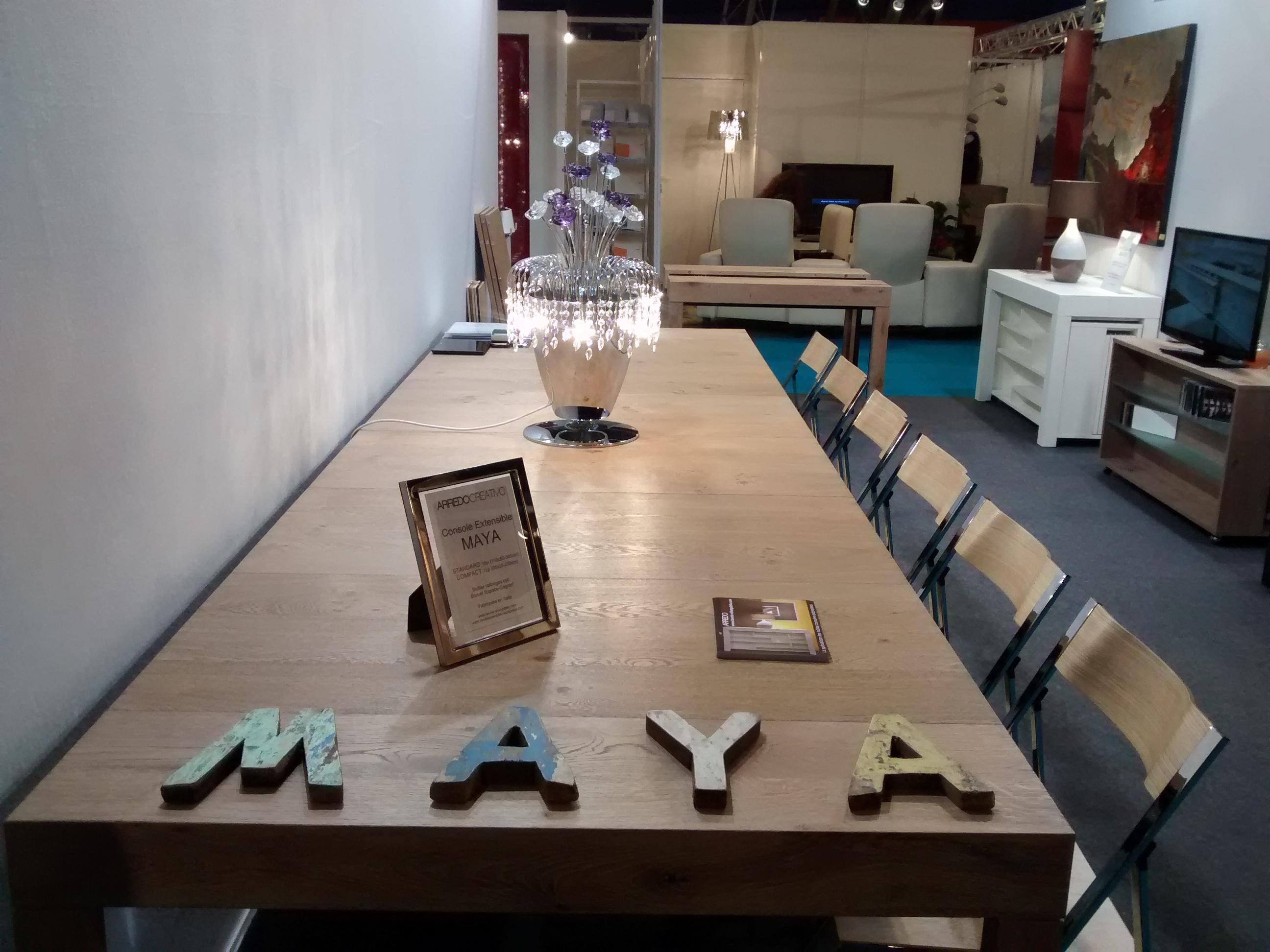 Table console extensible maya arredo creativo le for Consoles extensibles