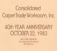 Consolidated Carpet Celebrates 40 Years