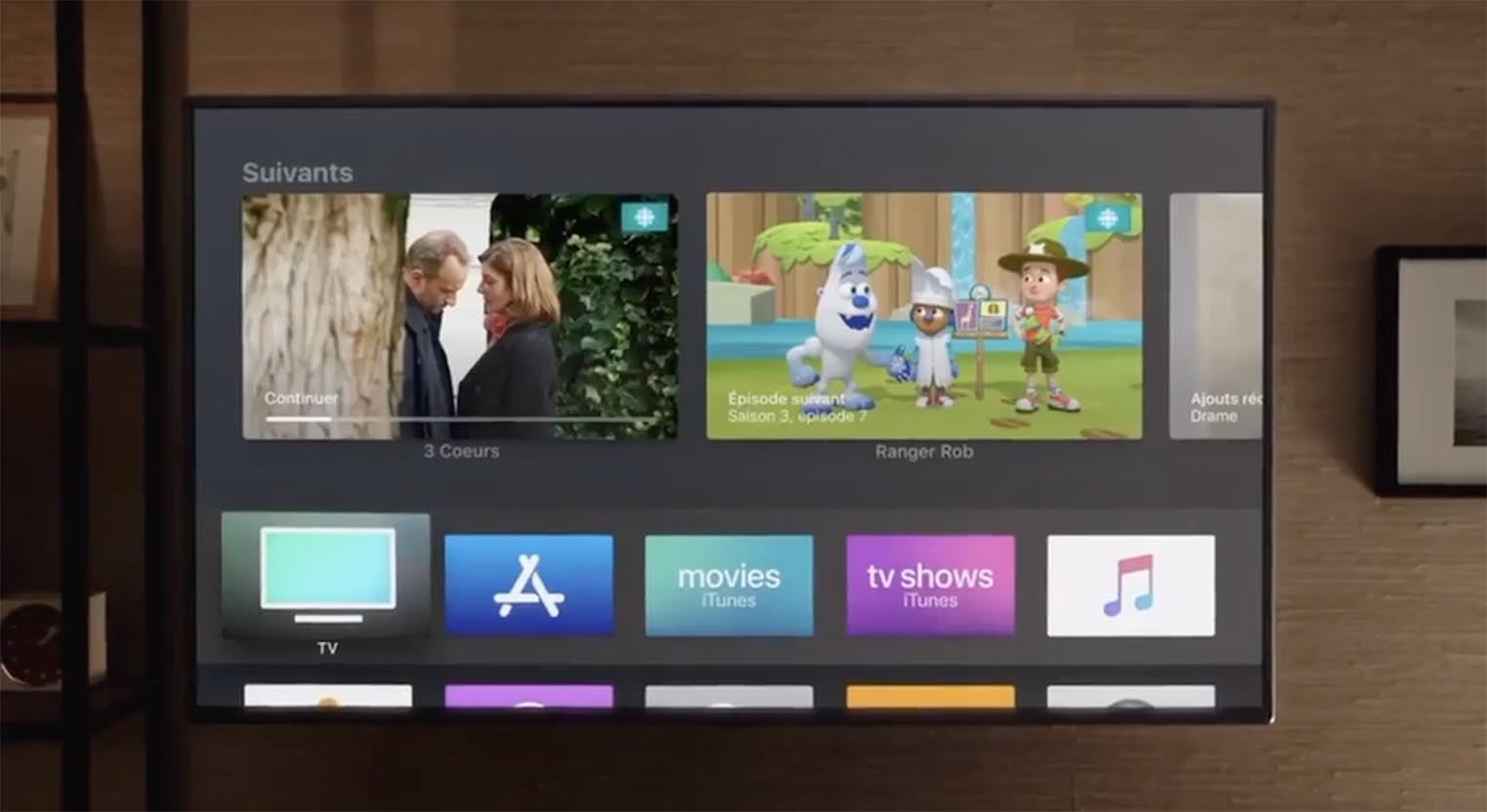Consomac   Apple TV   l app TV arrive en France Apple TV app TV