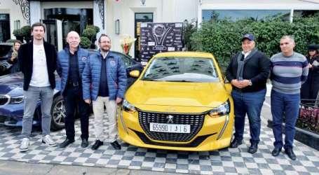 Trophées de l'Automobile: la Peugeot 208 sacrée voiture de l'année