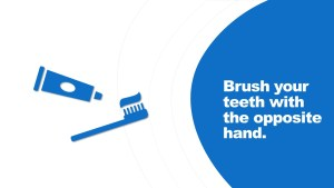 Home Remedy for Dementia - Brush your teeth with the opposite hand