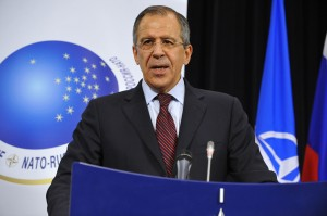 Russian Foreign Minister Sergey Lavrov.