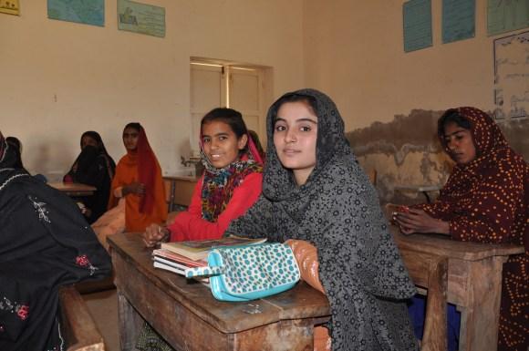School girls in Pakistan. (Jacques-Edouard Tiberghien via Flickr)