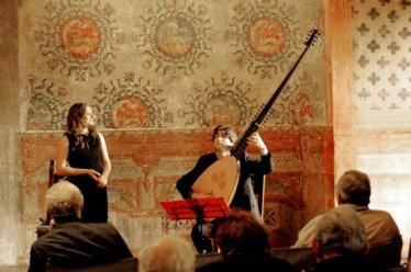 En concert à Rocca di Vignola - Italie