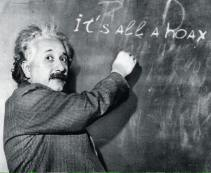 einstein all a hoax