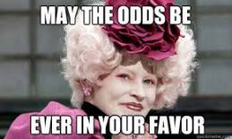 may the odds be forever in your favor