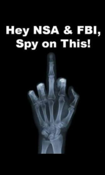 spy on this finger xray