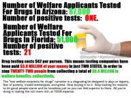welfare drug use