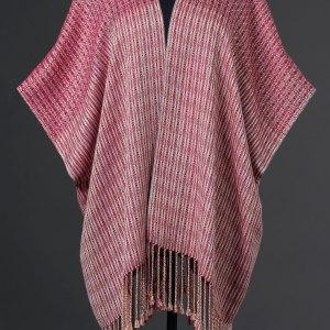 Luxurious silk blend capelet reversible – Velvet Opera