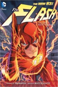 The Flash #1 of the New 52 line of comics. Hopefully this speaks to the kind of flash we will see in a movie!