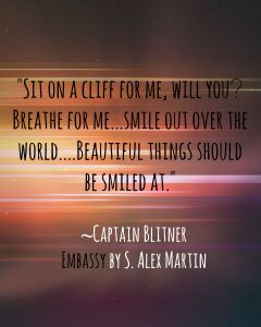 Captain Blitner Quote from Embassy