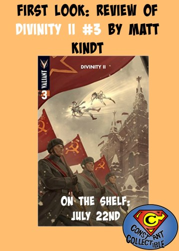 First Look Review of Divinity II #3 by Matt Kindt
