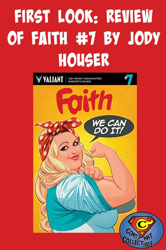 First Look: Review of Faith #7 by Jody Houser