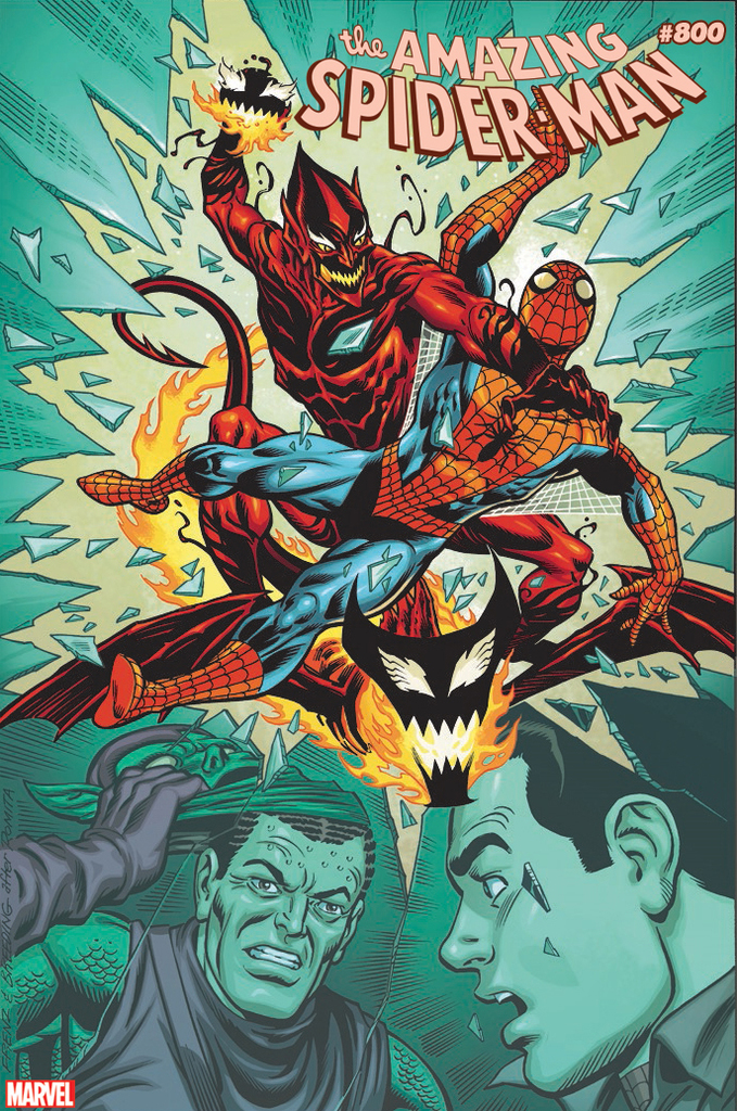 THE AMAZING SPIDER-MAN #800: GO DOWN SWINGING (2018)