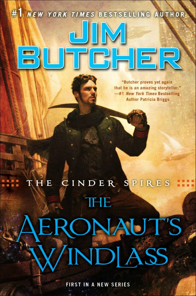 The Cinder Spires Aeronaut's Windlass by Jim Butcher