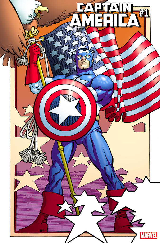 Captain America #1 (2018) Frank Miller Alternative Cover
