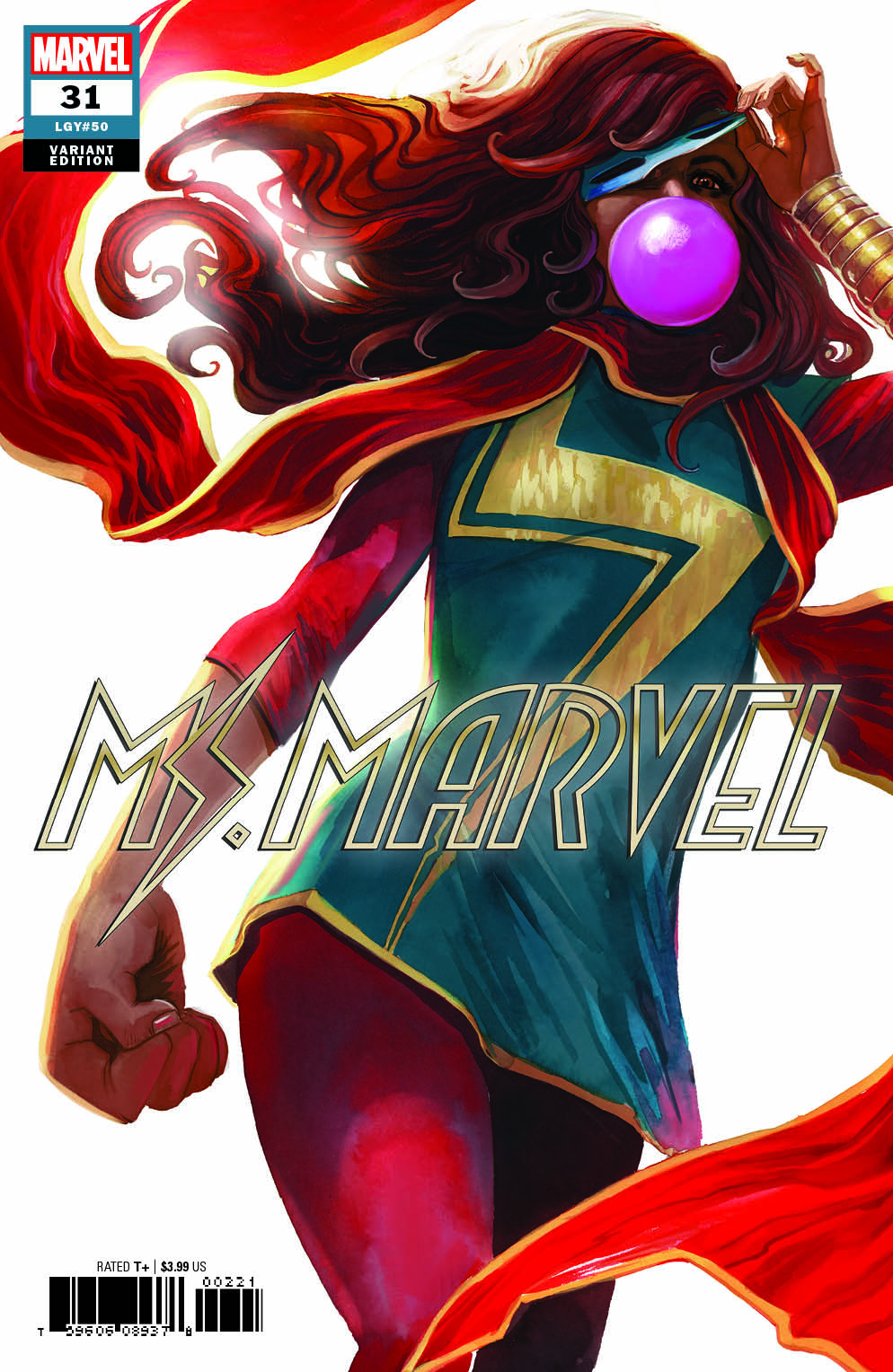 Ms. Marvel  #31 Variant (2018)
