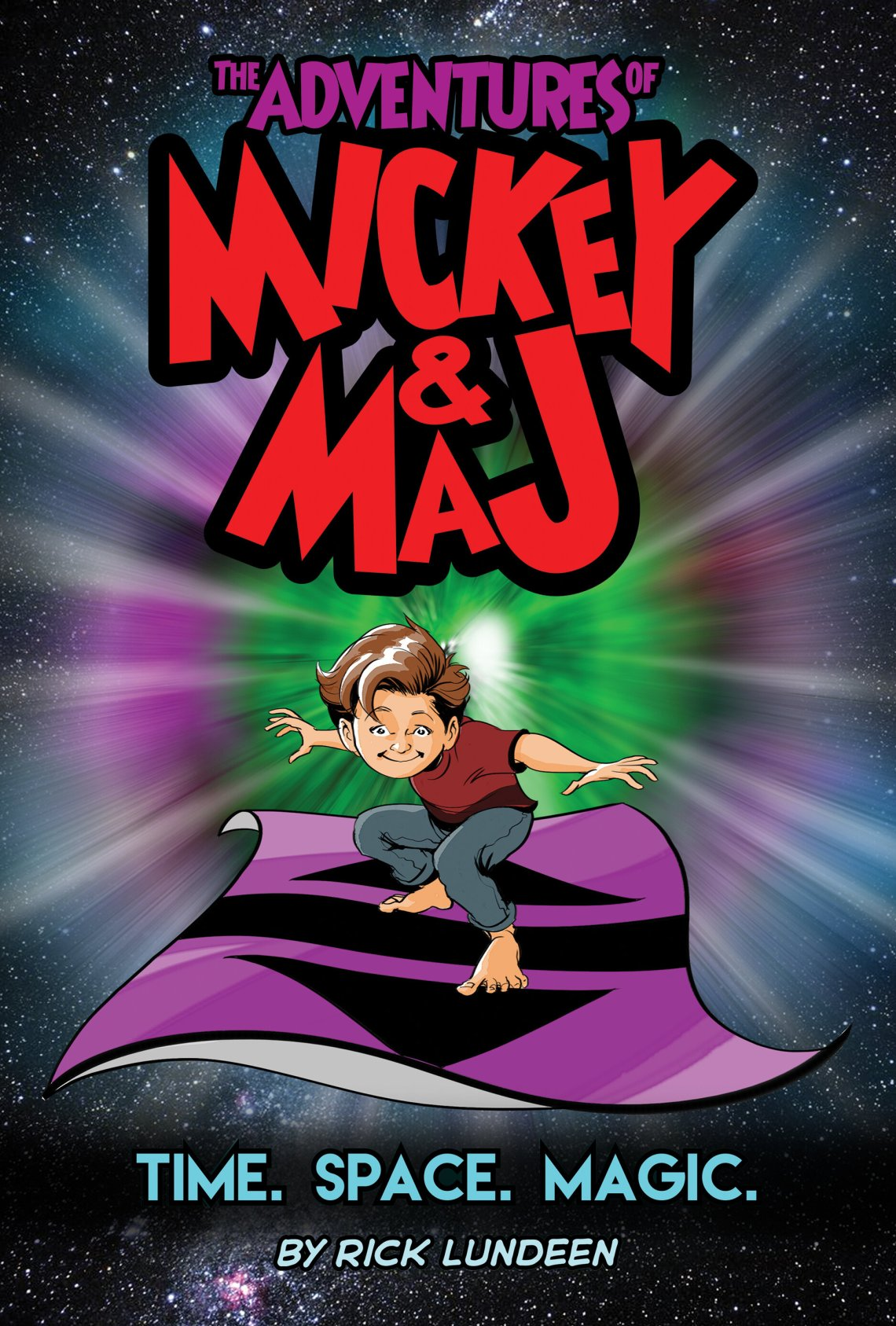 The Adventures of Mickey & Maj Time Space Magic Cover.jpg