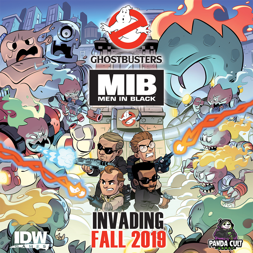 IDW Games Ghostbusters & MIB