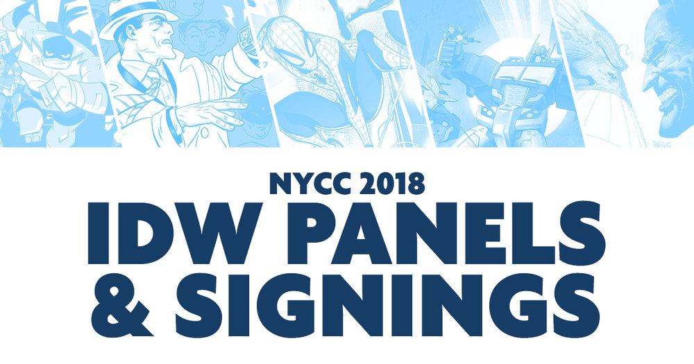 IDW NYCC
