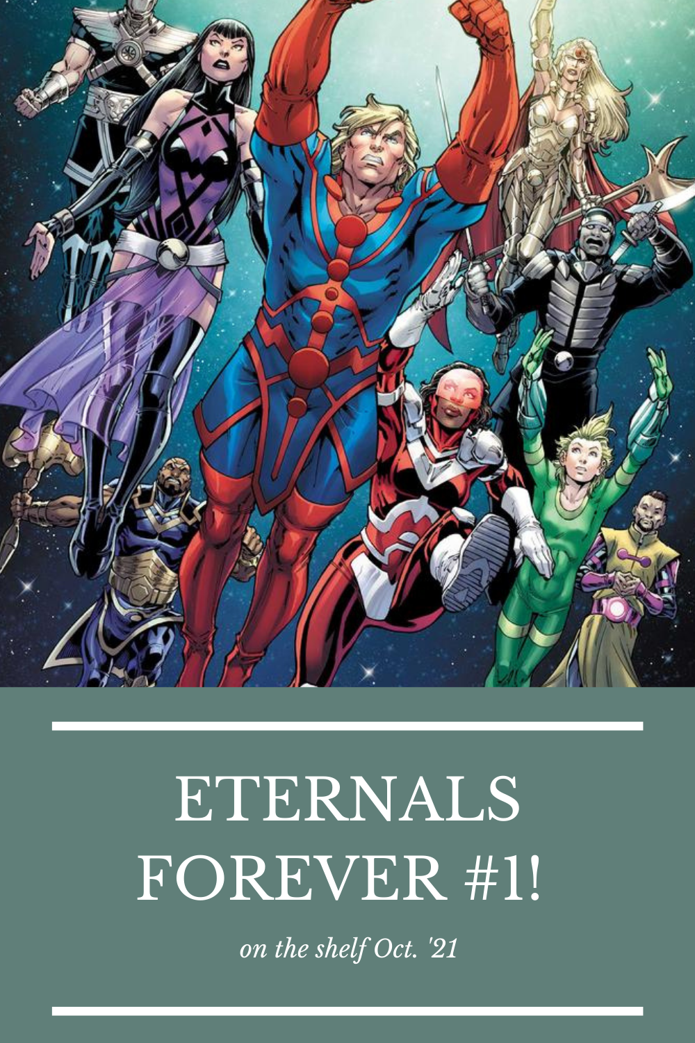 New Eternals one-shot by Ralph Macchio and Ramón Bachs
