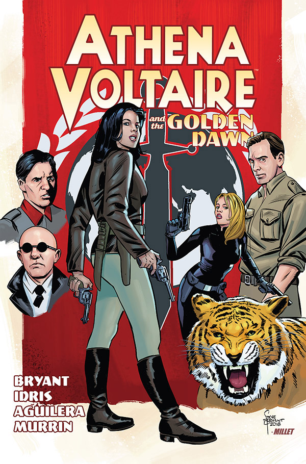 Athena Voltaire and the Golden Dawn (2018)