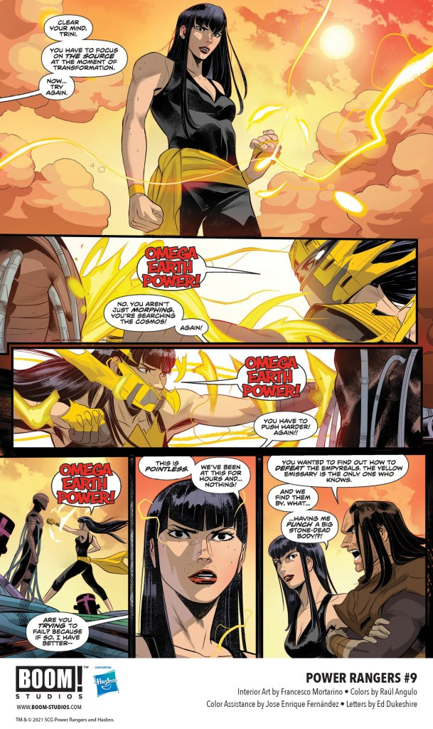 Your First Look at POWER RANGERS #9 from BOOM! Studios