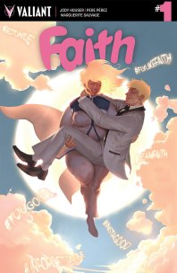 FAITH (ONGOING) #1 – Cover B by Jelena Kevic-Djurdjevic