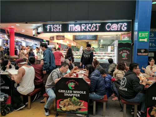 Sydney Fish Market Cafe