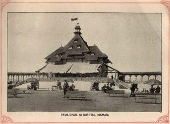 Pavilionul și bufetul Mamaia
