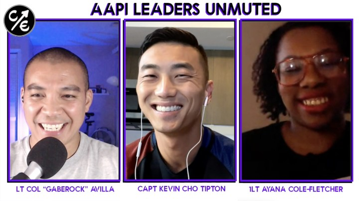 Overcoming Interminority Friction with Capt Kevin Cho Tipton and 1Lt Ayana Cole-Fletcher