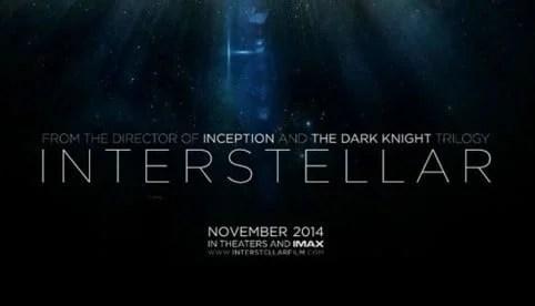 Une nouvelle bande annonce pour Interstellar | Le blog de Constantin