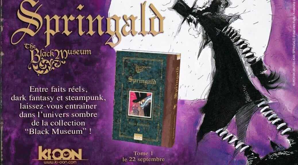 Ki-oon annonce la publication de Springald | Le blog de Constantin image 2