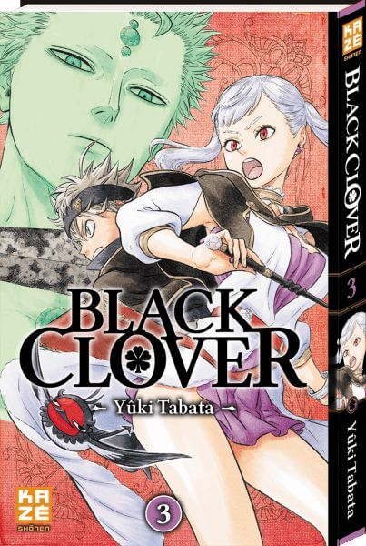 Avis Manga – Black Clover T3