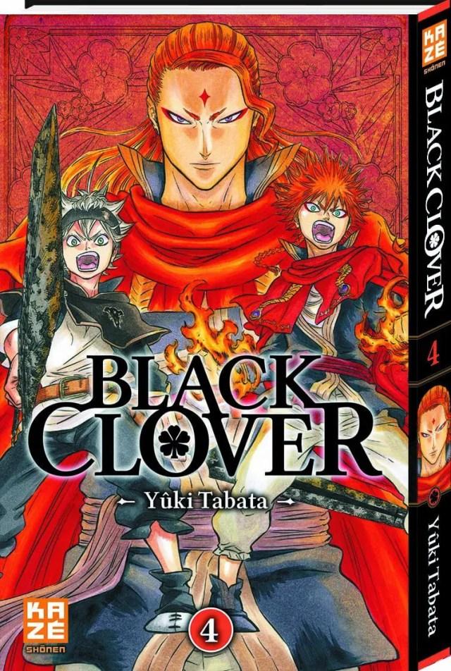 Avis Manga – Black Clover T4