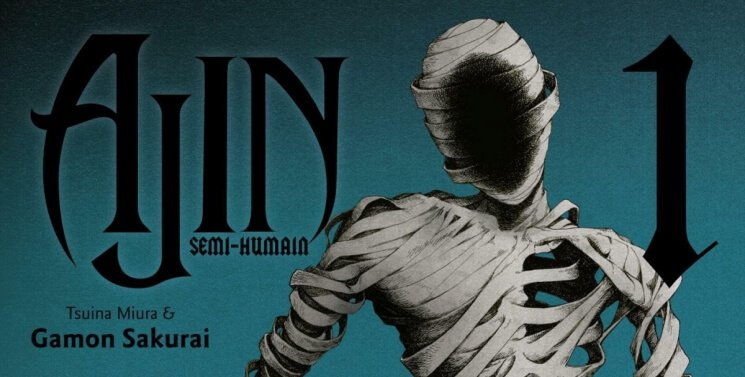 Avis Manga - Ajin T1 & T2   Le blog de Constantin image 2